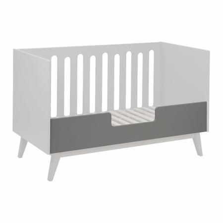 Slika Quax®  Ograjica za otroško posteljico Trendy 140x70 Griffin Grey