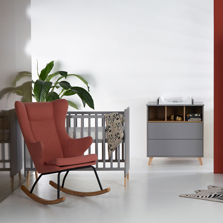 Quax® Gugalnik za odrasle De Luxe Sand Grey