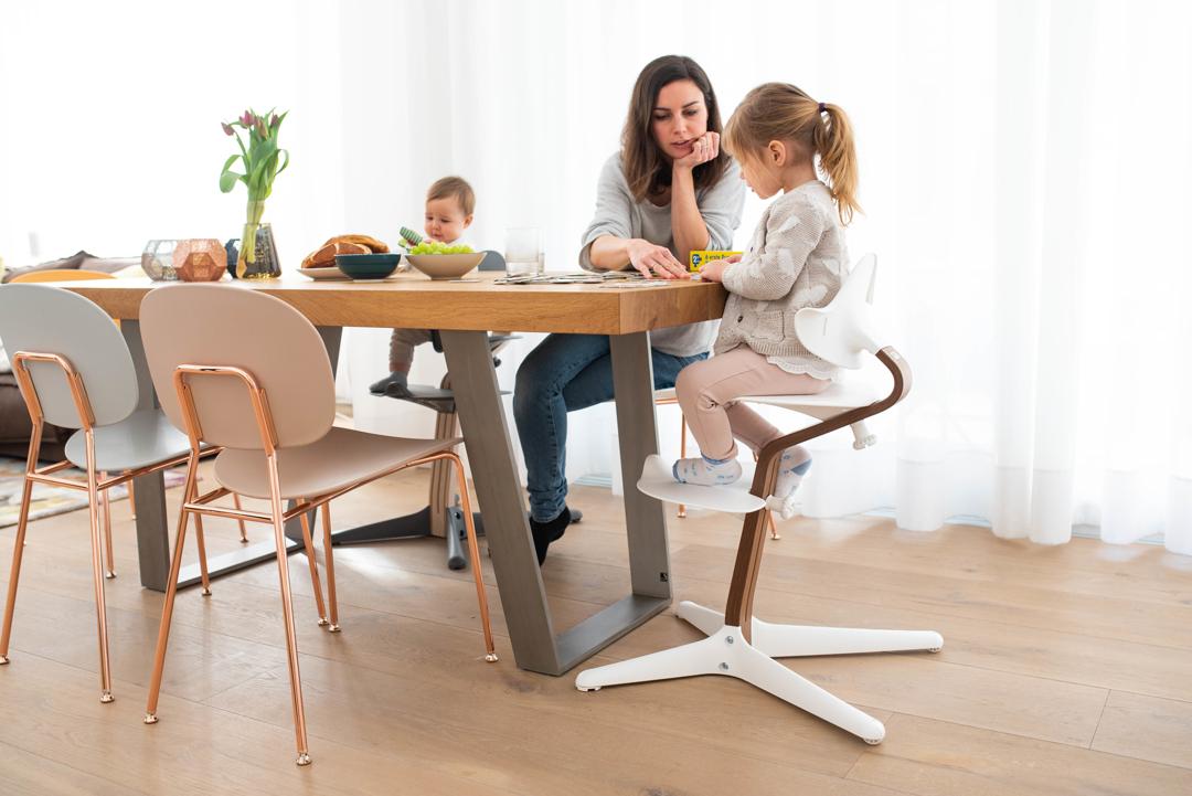 Nomi - visoki otroški stolček nove generacije!