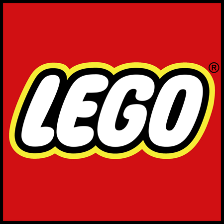 Lego® Škatla za shranjevanje 4 Light Royal Blue