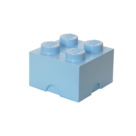 Lego® Škatla za shranjevanje 4 Light Royal Blue