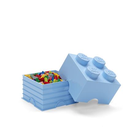Slika Lego® Škatla za shranjevanje 4 Light Royal Blue