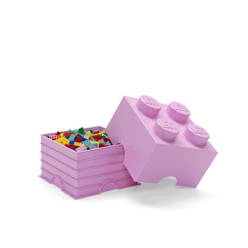Lego® Škatla za shranjevanje 4 Light Purple