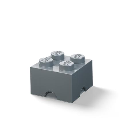 Slika Lego® Škatla za shranjevanje 4 Dark Grey