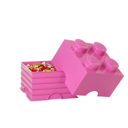 Slika Lego® Škatla za shranjevanje 4 Bright Purple