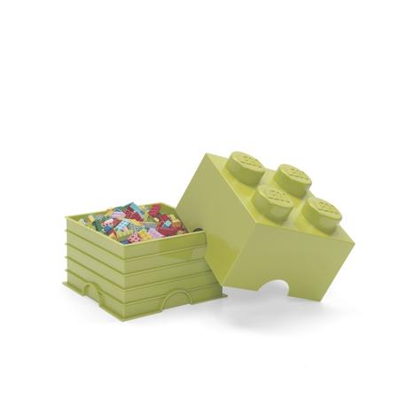 Slika Lego® Škatla za shranjevanje 4 Spring Yellowish Green