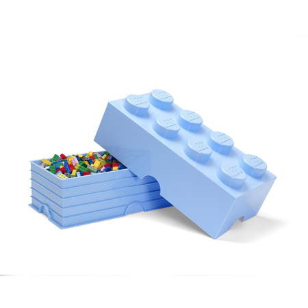 Slika Lego® Škatla za shranjevanje 8 Light Royal Blue