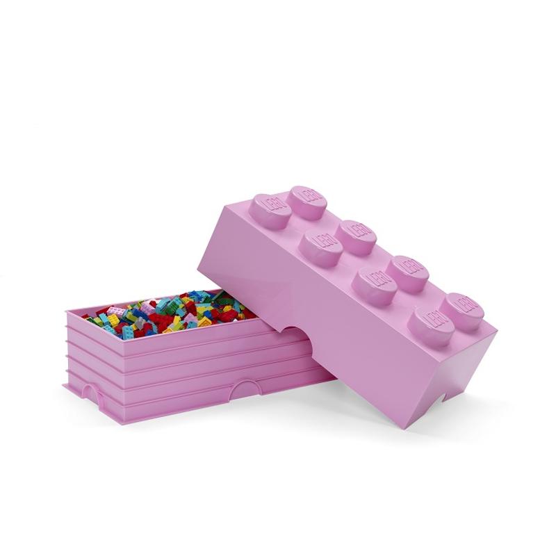 Lego® Škatla za shranjevanje 8 Light Purple