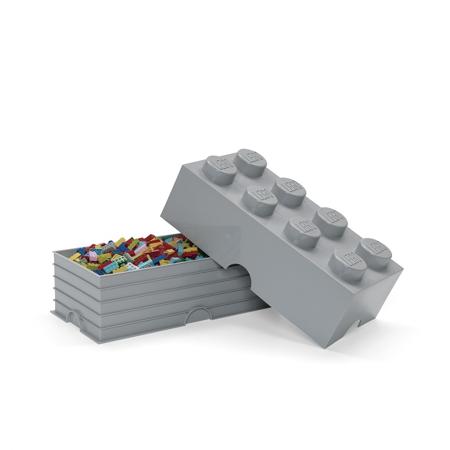 Slika Lego® Škatla za shranjevanje 8 Medium Stone Grey