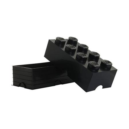 Slika Lego® Škatla za shranjevanje 8 Black