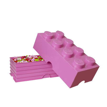 Slika Lego® Škatla za shranjevanje 8 Bright Purple
