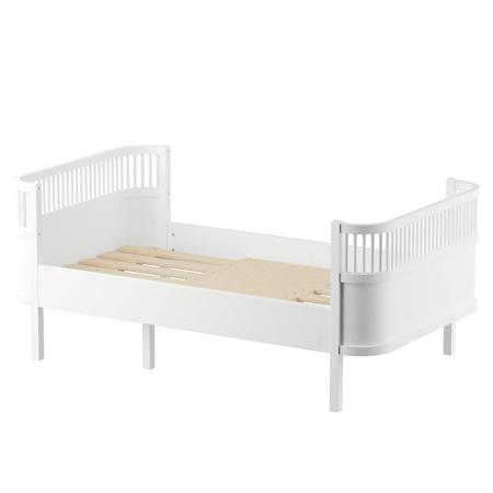 Sebra® Otroška posteljica Sebra Junior & Grow Classic White
