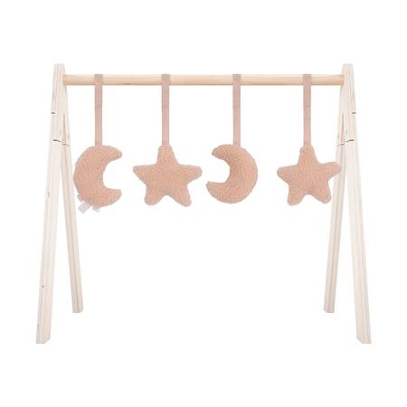 Slika Jollein® Aktivnostne igračke za igralni center Moon Pale Pink