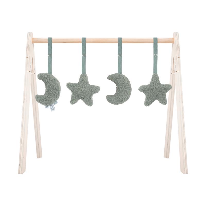 Jollein® Aktivnostne igračke za igralni center Moon Ash Green