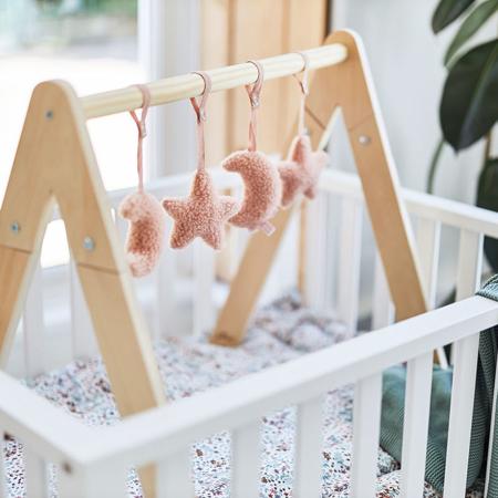 Jollein® Aktivnostne igračke za igralni center Moon Pale Pink