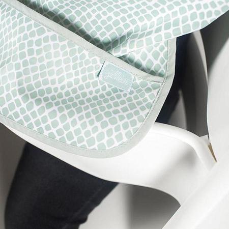 Jollein® Nepremočljivi slinček Snake Soft Green 2 kosa