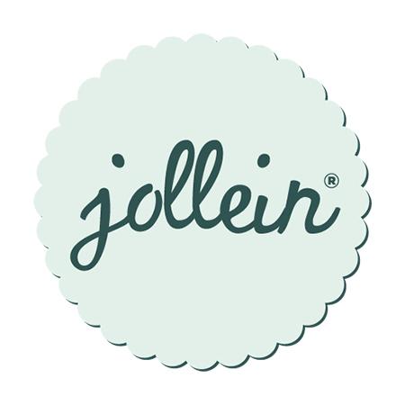 Jollein® Nepremočljivi slinček Rainbow Blush 2 kosa