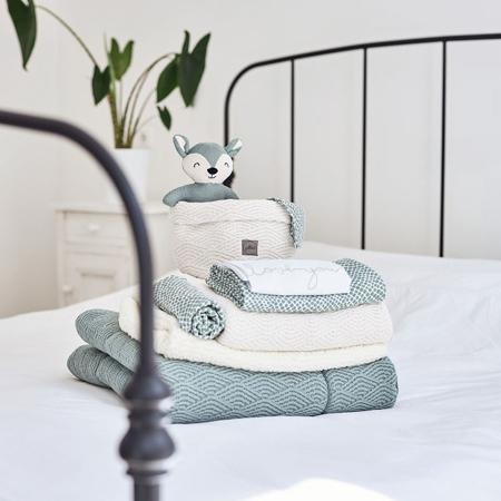 Jollein® Komplet 3 krpic za umivanje Snake Pale Pink 15x21