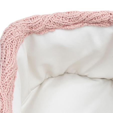 Slika Jollein® Košara za shranjevanje River Knit Pale Pink