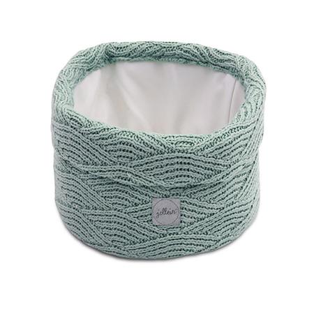 Slika Jollein® Košara za shranjevanje River Knit Ash Green