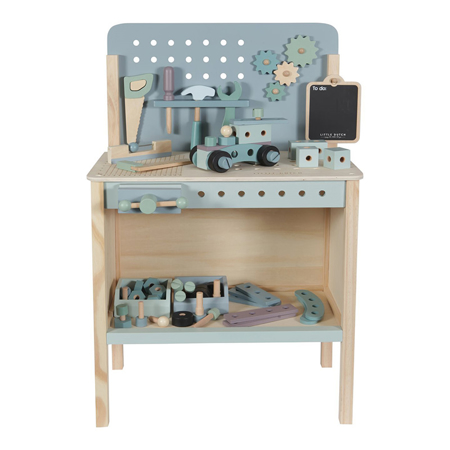 Slika Little Dutch® Otroška delovna miza z orodjem