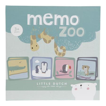 Slika Little Dutch® Otroški spomin Memo Zoo