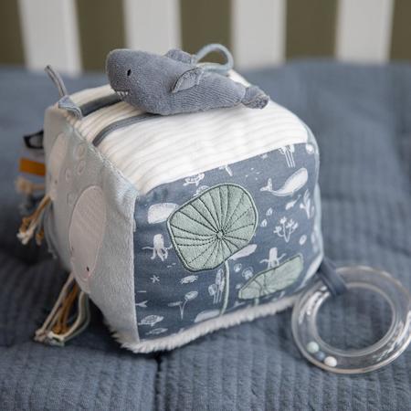 Little Dutch® Senzorična kocka Kit Ocean Blue