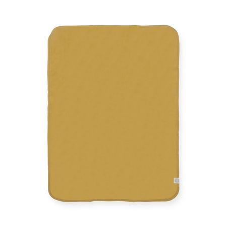 Jollein® Bombažna odejica Mustard 75x100