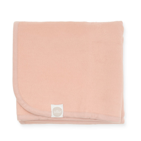 Slika Jollein® Bombažna odejica Pale Pink 75x100