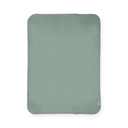 Jollein® Bombažna odejica Ash Green 75x100