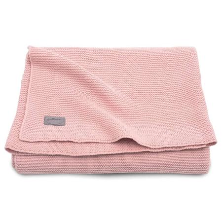 Slika Jollein® Pletena odejica Blush Pink 75x100