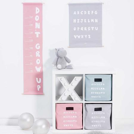 Jollein® Stenski meter ABC Blush Pink