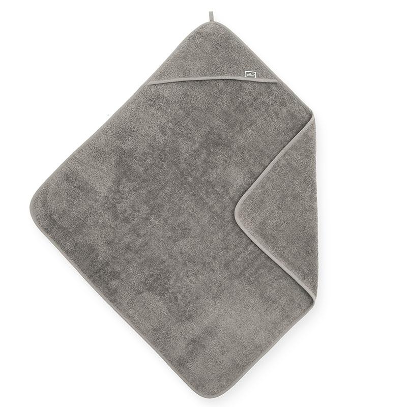 Jollein® Brisača s kapuco Storm Grey 75x75