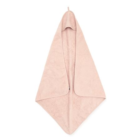Jollein® Brisača s kapuco Pale Pink 75x75