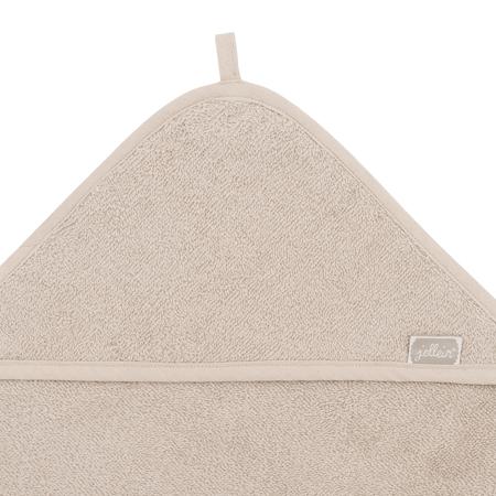 Jollein® Brisača s kapuco Nougat 75x75