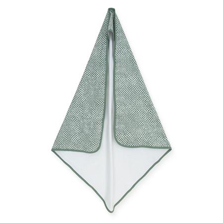 Jollein® Brisača s kapuco Snake Ash Green 75x75