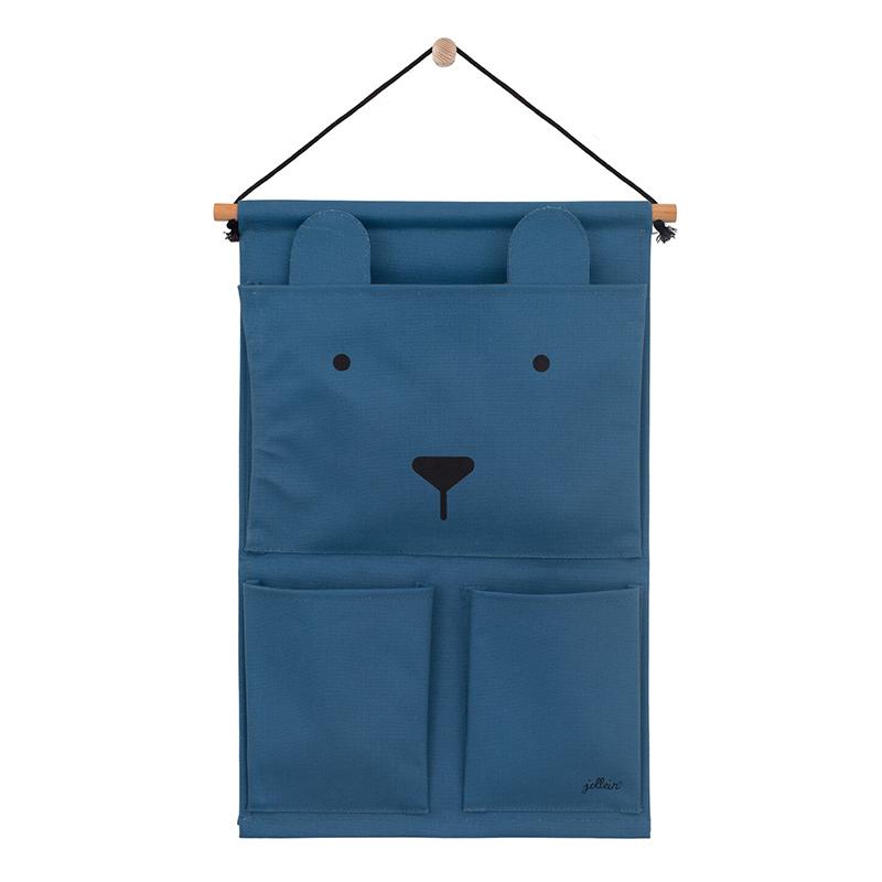 Jollein® Stenski žep Steel Blue