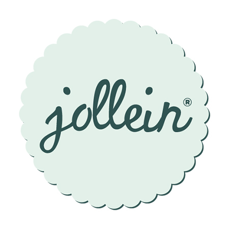 Jollein® Lesena sestavljanka Števila Grey/White