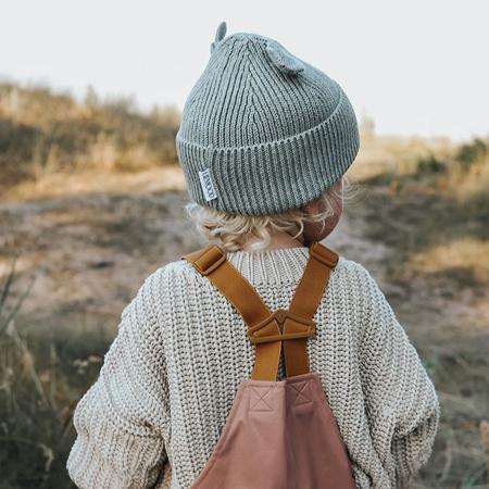 Liewood® Otroška zimska kapa Gina Grey Malange