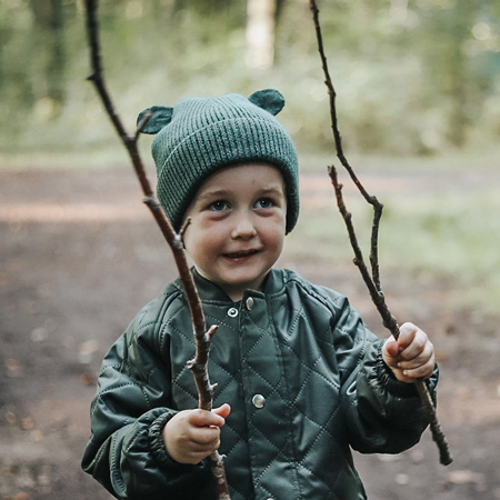 Liewood® Otroška zimska kapa Gina Hunter Green