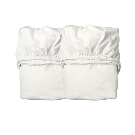Slika Leander® Otroška jogi rjuha za posteljico Junior 2 kosa 60x140 Snow