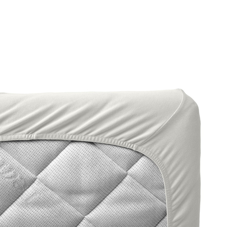 Leander® Otroška jogi rjuha za posteljico Junior 2 kosa 60x140 Snow