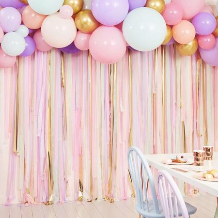 Slika Ginger Ray® Ozadje za fotografiranje z baloni Pastel