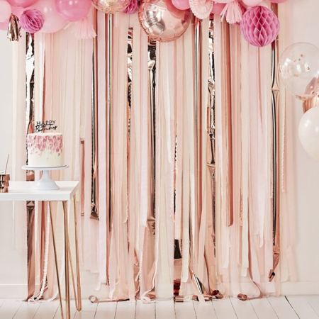 Slika Ginger Ray® Ozadje za fotografiranje Pink & Rose Gold