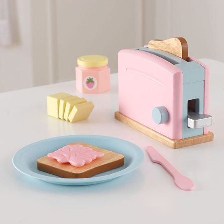 Slika KidKraft® Igralni set Toaster Pastel