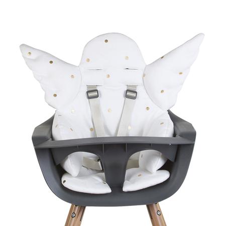 Slika Childhome® Univerzalna sedežna blazina za stolček Jersey Gold Dots