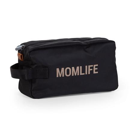 Slika Childhome® Toaletna torbica Momlife Black Gold