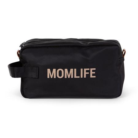 Childhome® Toaletna torbica Momlife Black Gold