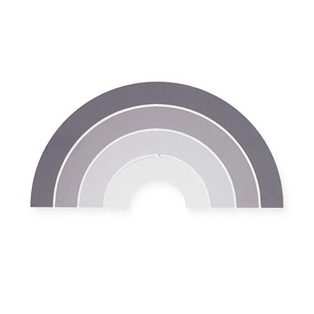 Slika Jollein® Stenska lučka Rainbow Grey