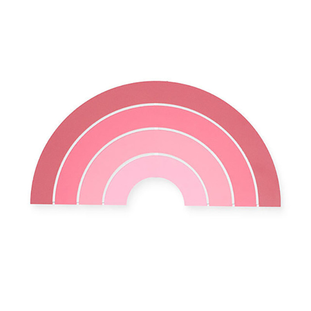 Slika Jollein® Stenska lučka Rainbow Blush Pink